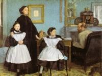 Edgar Degas: Die Familie Bellelli (1858�1867), Öl auf Leinwand, 200 × 250 cm