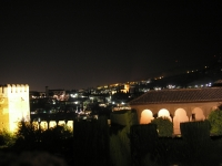 El Albaicín: Sicht aus Alhambra