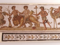 El Jem Museum dionysos procession mosaics