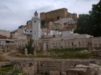 El Kef roman baths, mosque and casbah