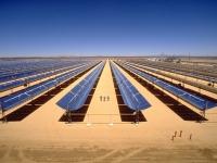 End_view_of_Kramer_Junction_solar_field
