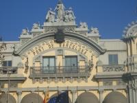 Entrada al puerto barcelona