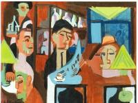 Ernst_Ludwig_Kirchner_-_Davoser_Cafe_-_1928
