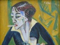 Ernst Ludwig Kirchner: Erna (1930)