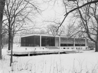Farnsworth House in Plano, Illinois (5)