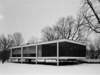 Farnsworth House in Plano, Illinois (6)
