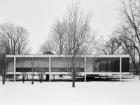 Farnsworth House in Plano, Illinois (8)