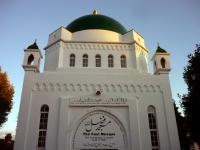 Fazl-Moschee, erste Moschee in London (Baubeginn 1924), Bild aufgenommen 2010