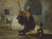 Francisco_de_Goya_-_Friar_Pedro_Clubs_El_Maragato_with_the_Butt_of_the_Gun