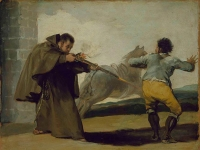 Francisco_de_Goya_-_Friar_Pedro_Shoots_El_Maragato_as_His_Horse_Runs_Off
