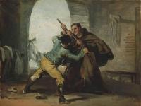 Francisco_de_Goya_-_Friar_Pedro_Wrests_the_Gun_from_El_Maragato