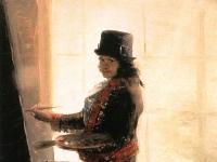 Francisco de Goya y Lucientes - Self-Portrait in the Workshop - WGA10008