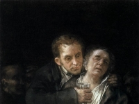 Francisco de Goya y Lucientes - Self-Portrait with Doctor Arrieta - WGA10093