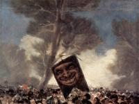 Francisco Goya: Das Begräbnis der Sardine (1812-1819)