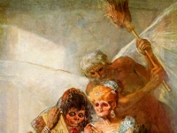 Francisco Goya: Einst und jetzt (um 1820)