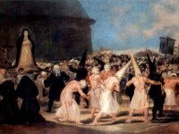Francisco Goya: Geißlerprozession (1812-1814)