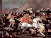 Francisco Goya: El dos de mayo de 1808 en Madrid o La carga de los mamelucos (1814)