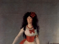 Francisco Goya: Herzogin von Alba, sp. La duquesa de Alba (1795)