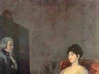 Francisco Goya: Retrato de María Tomasa Palafox, marquesa de Villafranca  (1804)
