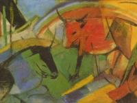 Franz Marc: Rinder (1913)
