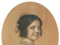 Fanz von Stuck: Bildnis der Tochter Mary Stuck