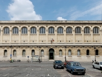 Front bibliotheque Sainte-Genevieve Paris
