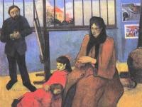 Paul Gauguin: Familie Schuffenegger (1889)