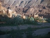 Kashba in der Dades-Schlucht, Marokko