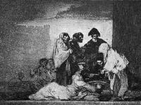 Goya: Los desastres de la guerra, Platte 51: Gracias a la almorta