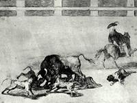 Goya_-_Jogam_cachorros_ao_touro