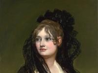 Francisco Goya: Portrait der Doña Isabel Cabos de Porcel (1806)