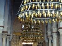 Great_Mosque_of_Kairouan_prayer_hall_with_mihrab_and_minbar
