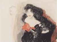 Gustav_Klimt_-_Studie_zum_Gemaelde_Judith_II_-_ca1908