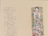 Gustav_Klimt_-_Zwei_Entwuerfe_zum_Schmuckblatt_fuer_Otto_Wagner_-_1911