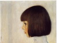 Gustav Klimt: Portrait of Helene Klimt (1898)