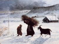Gustave Courbet: Arme Frau im Dorf