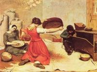 Gustave Corbet: Die Kornsieberinnen (1855)