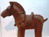 Haniwa-Figur aus der Kofun-Zeit (6. Jahrhundert)