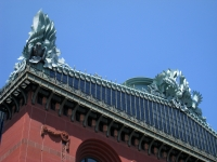 Harold Washington Library, Chicago, IL - roof detail