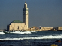 Hassan II. Moschee, Casablanca, Marokko (مسجد الحسن الثاني)