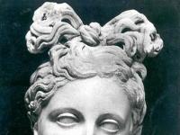 Büste von Artemis, Museum von Kyrene (Cirene)