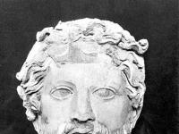 Büste von Zeus, Museum von Kyrene (Cirene)