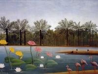Henri_Rousseau_-_The_Flamingoes