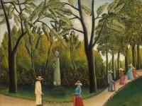 Henri Rousseau: Das Chopin-Denkmal im Jardin du Luxembourg