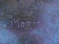 Henry Moore Liegende 1969-70-Signatur