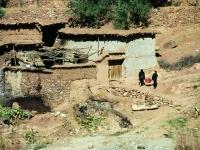 Dorf im hohen Atlas