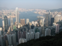 Hong Kong view from The Peak 01