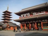 Hozomon and pagoda, Sensoji Temple, Asakusa, Tokyo