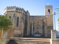 Kirche señora del águila in Alcalá de Guadaíra, Sevilla, Spanien.