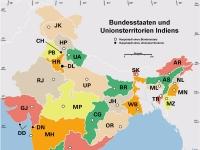 Verwaltungsgliederung Indiens